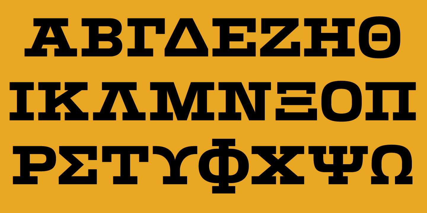 Basic Greek alphabet